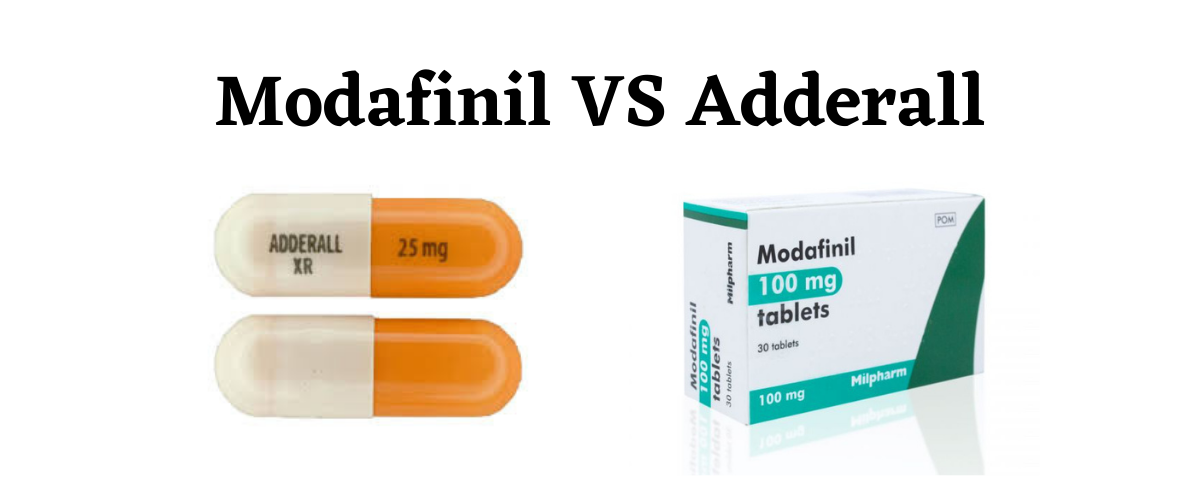 Modafinil VS Adderall – Differences, Uses, and Side Effects